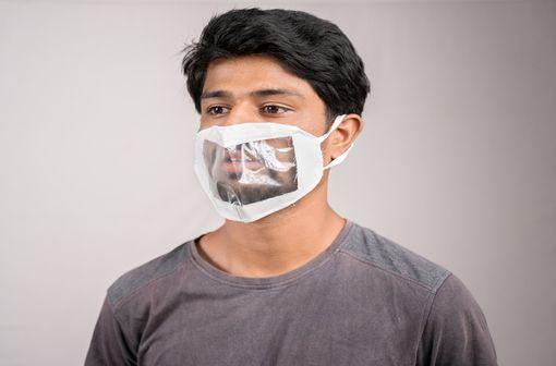Des masques à fenêtre transparente particulièrement attendus (illustration).
