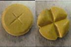 Ancien (à gauche) et nouveau (à droite) comprimé de DISULONE.