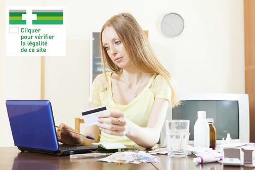 Logo CE sur les sites de vente en ligne de médicaments