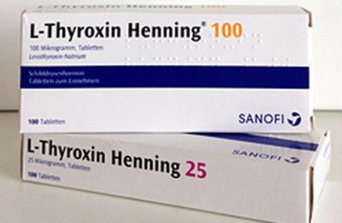 L-THYROXIN HENNING (lévothyroxine) : 4 dosages disponibles à partir du 16 octobre