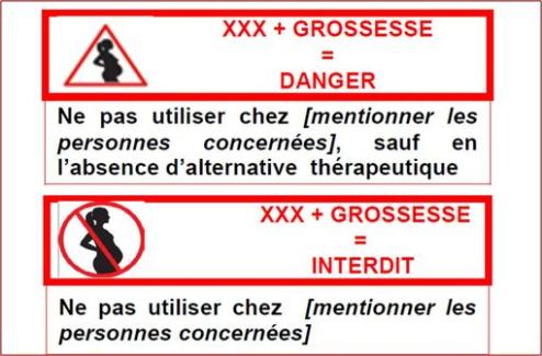 Grossesse : les boîtes de médicaments à risque arborent le pictogramme