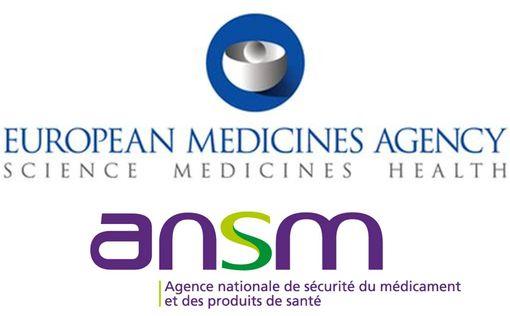 A la demande de l'ANSM, l'EMA a fait réévaluer les données de sécurité et d'utilisation de plusieurs médicaments.