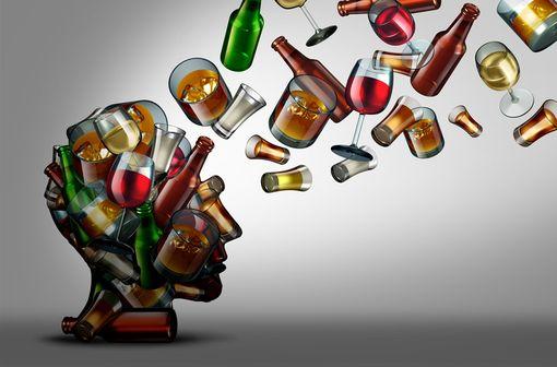 En France, on estime qu'environ 1,5 millions de personnes sont alcoolodépendantes et que 2,5 millions de personnes ont une consommation à risque (illustration).