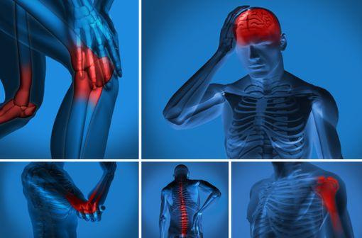 La majorité des atteintes articulaires de la PR et de la SPA, et des atteintes cutanées du psoriasis en plaques est médiée par des molécules pro-inflammatoires qui appartiennent à un réseau contrôlé par le TNF (illustration).
