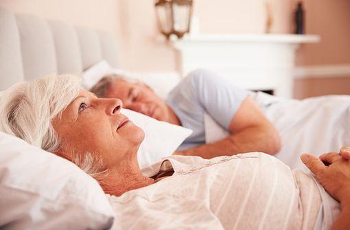 L'insomnie des seniors est une des causes les plus fréquentes de prescription de benzodiazépines (illustration).