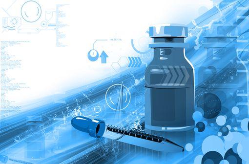 Les lots rappelés pourraient contenir une pipette d'une autre spécialité antibiotique à base de clarithromycine (illustration).