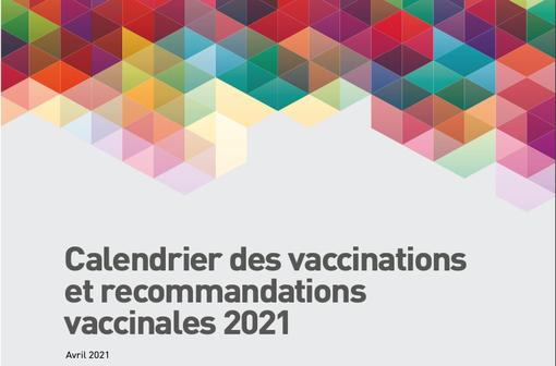 Le calendrier des vaccinations et recommandations vaccinales 2021 (illustration).