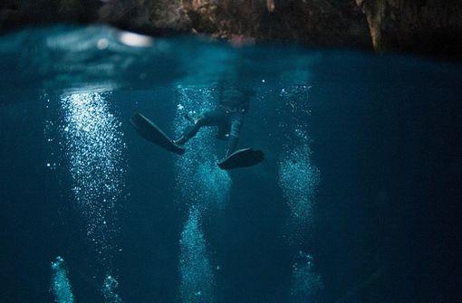 La plongée souterraine fait partie des sports concernés par cet arrêté (illustration).