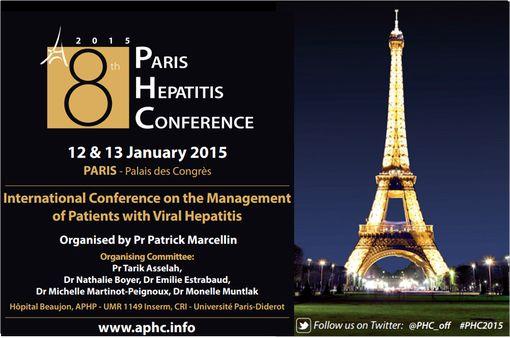 La 8è Conférence de Paris sur les Hépatites a été organisée par le Pr Patrick Marcellin (chef de service d'hépatologie, hôpital Beaujeon, Clichy).