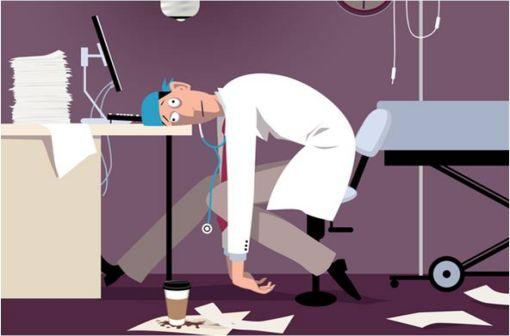 Dépression et burnout : un danger pour les médecins avec des répercussions sur les patients (illustration).