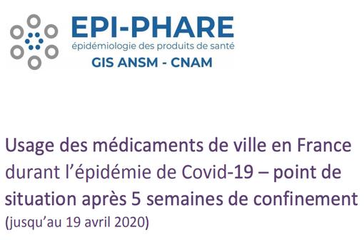 Étude pharmaco-épidémiologique à partir des données de remboursement du Système National des Données de Santé (SNDS).