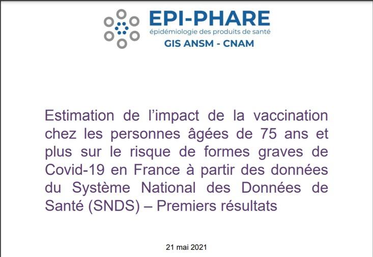 La surveillance pharmaco-épidémiologique des vaccins contre la COVID-19 est assurée par le Groupement d'Intérêt Scientifique EPI-PHARE (GIS ANSM-CNAM).