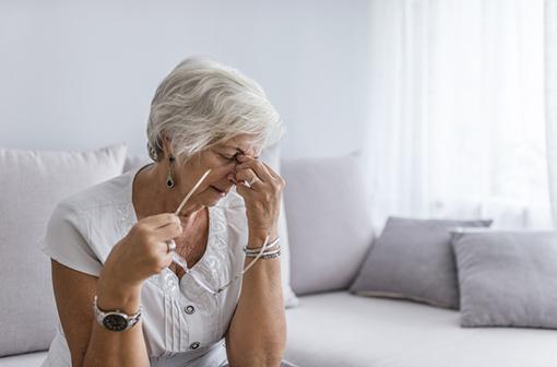 Chez certains patients, la COVID-19 provoque un épuisement durable pendant plusieurs semaines (illustration).