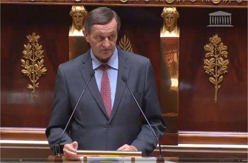 Gérard Bapt lors de la présentation du PLFRSS, séance du 30 juin 2014 (capture d'écran, © videos.assemblee-nationale.fr)