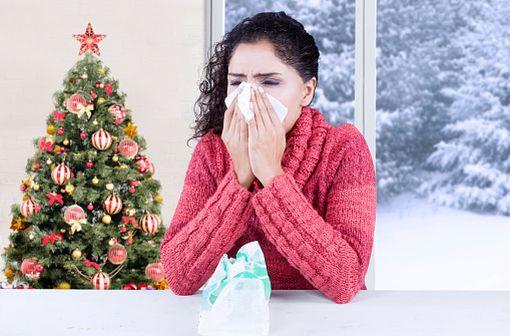 L'épidémie de grippe débute tôt cette année, juste avant les vacances de Noël (illustration).