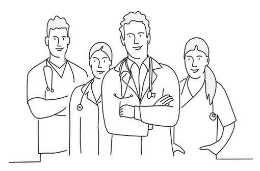 Les personnes handicapées nécessitent un suivi très étroit, multidisciplinaire, tout au long de la vie (illustration).