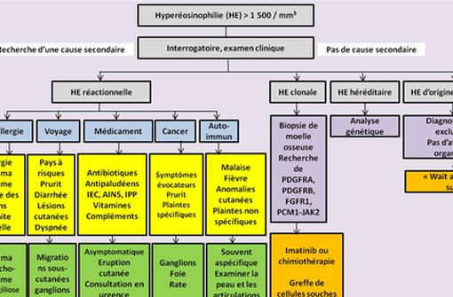 L'hyperéosinophilie, un