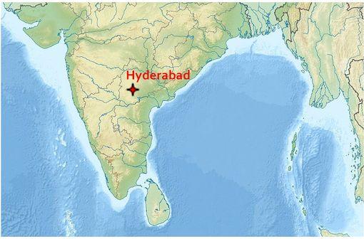 La société GVK Bio réalise des essais cliniques de bioéquivalence sur son site d'Hyderabad en Inde (illustration @ Wikimedia).