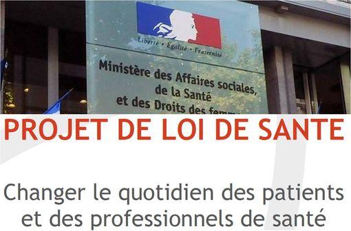 Les grandes lignes de la future loi de santé ont été présentées par Marisol Touraine, le 15 octobre au ministère de la santé.