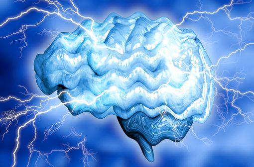 Les crises épileptiques consistent en un fonctionnement excessif et simultané des neurones, à l'origine de décharges électriques soudaines (illustration).