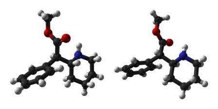 Le méthylphénidate est un psychostimulantsympathomimétique d'action centrale (image : © Ben Mills, Wikimedia)