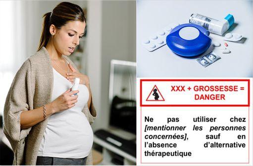 Médicaments de l'asthme : ne pas les arrêter malgré le pictogramme