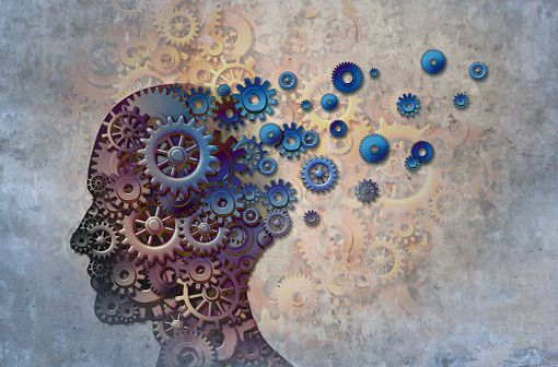 Le premier symptôme de la maladie d'Alzheimer est souvent une perte de la mémoire immédiate, se manifestant initialement par des distractions mineures, qui s'accentuent avec la progression de la maladie (illustration).