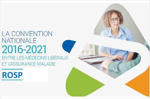 La convention 2016-2021 passée entre l\'Assurance maladie et les médecins libéraux comporte des modificaitons des critères de la ROSP (illustration effectuée à partir d\'un dossier de presse de l\'assurance maladie).