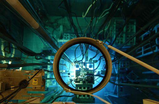 Réacteur Osiris (© L.Godart/CEA).