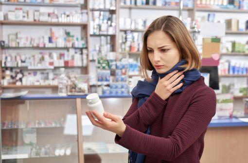 Les pastilles à sucer de flurbiprofène ne peuvent plus être délivrées sans ordonnance en pharmacie (illustration).