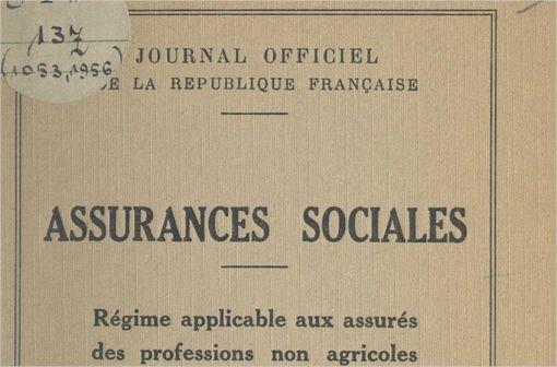 Le texte de 1945 ayant jeté les bases de la Sécurité sociale et de ses rapports avec le corps médical  (© Bibliothèque Nationale de France).