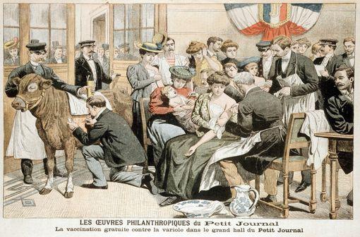Le vaccin antivariolique appartient au passé : la variole est éradiquée (illustration).