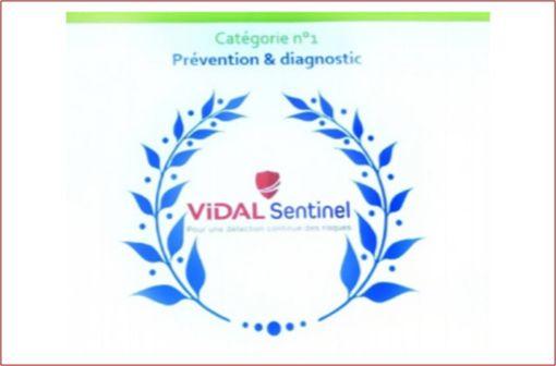 Le trophée Prévention et Diagnostic a été attribué à VIDAL pour son projet Sentinel qui vise à améliorer et à sécuriser la prise en charge médicamenteuse.