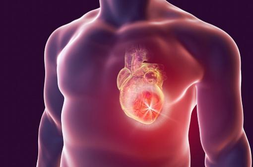 XYLOCARD est indiqué dans le traitement et la prévention des récidives des troubles du rythme ventriculaire menaçant le pronostic vital, notamment à la phase aiguë de l'infarctus du myocarde (illustration).