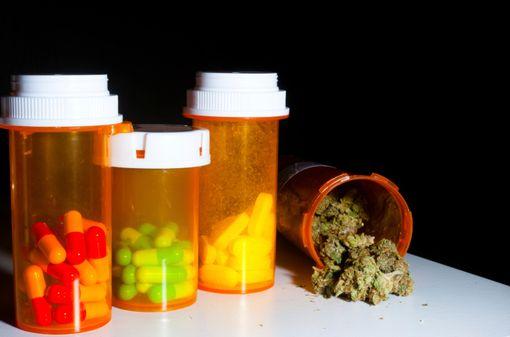 Aux-Etats-Unis, le cannabis médical est vendu sous forme naturelle (fleurs ensuite fumées, vaporisées ou cuisinées par l'utilisateur), mais aussi sous forme de sodas, de chocolat, de patchs, etc. (illustration).