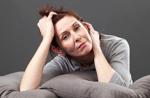 Des symptômes dépressifs plus ou moins importants peuvent survenir en périménopause (illustration).